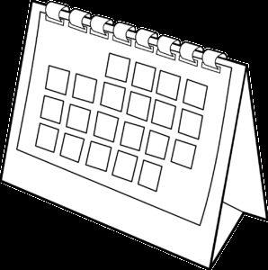 agenda, schedule, calendar